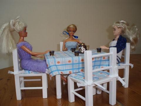 Ma table pour recevoir mes ami(e)s
