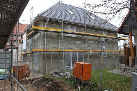 Haus 1x verputzt (Aufnahme vom 12.11.2011)