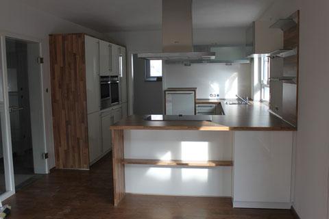 Küche im fertigen Zustand