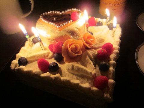 ♡これは、今のかれに作った歴代最高のケーキ♡
