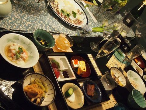 やはり感想とおり、作りたての タイのかぶら蒸しと、ステーキと、ハマグリのお吸い物がとても美味しかったです^^