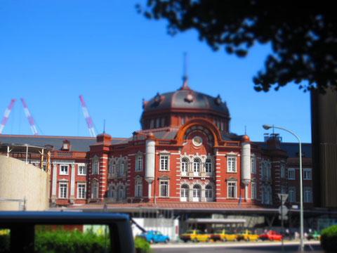 東京駅。 ここもリニューアルまぢかです^^