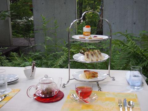 ケーキがとても美味しかった! ゆったりお茶するのが趣味だったので なんだか久々で感動しました。