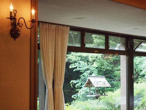 小さなホテルの中にあります。これで軽井沢の3つの温泉は全部行きました。 温泉って本当にいいですね♪