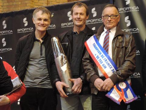 Championnat Grand Fond :   1er JM DUSSOSSOY      2° S WYBAILLIE      3° P&G DUDOUIT