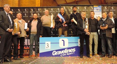 Championnat ttes Catégories : 1er D HOFLACK 2° S GANTIER 3° A&P MARGRIS ...... 8° P&G DUDOUIT