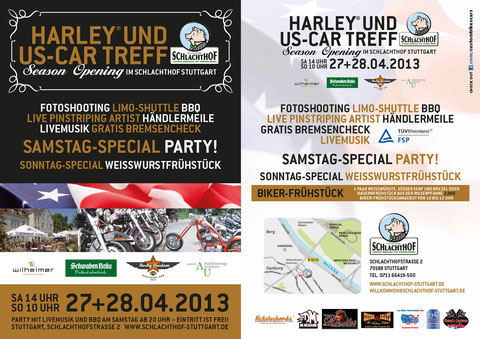 Harley und US-Car Treff im Stuttgarter Schlachthof