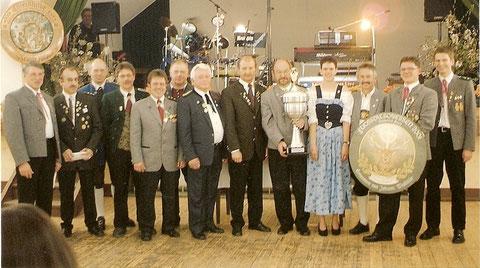 40. Fuchstalpokalschießen 2001 in Asch