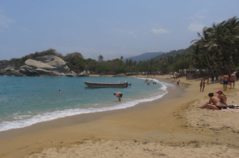 Nationalpark Tairona - fast wie auf den Seychellen