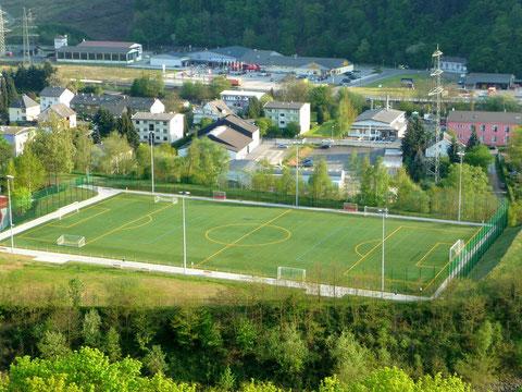 Kustrasenplatz Stadion Silberau (neuester Generation)