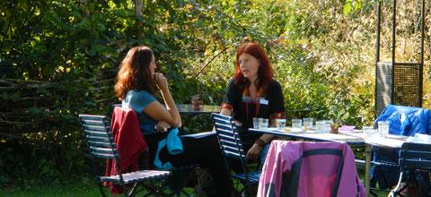 Austausch an der Erfa-Tagung