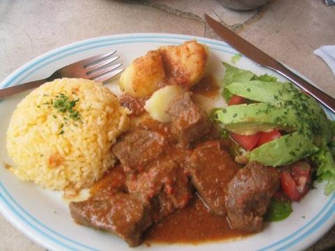 Seco de chivo cocinaecuatorianas jimdo page for Como cocinar carne de chivo
