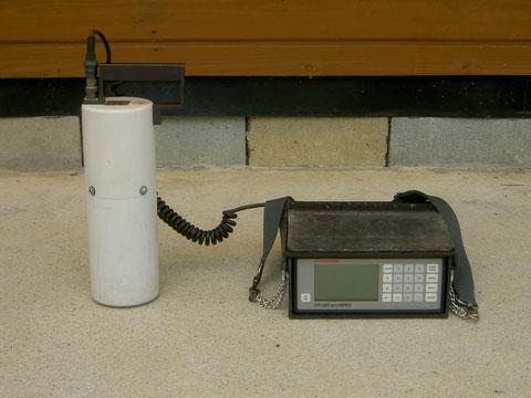 ガンマ線用ポータブルスペクトロメーター
