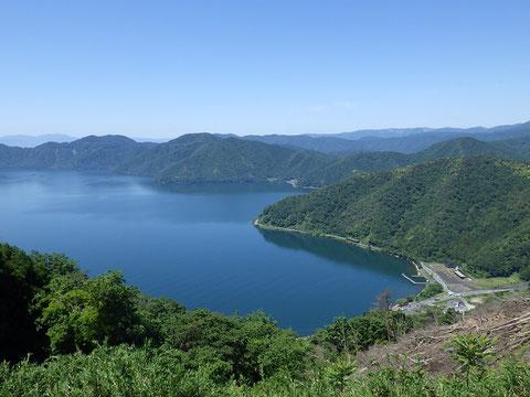 賤ケ岳山頂からの琵琶湖