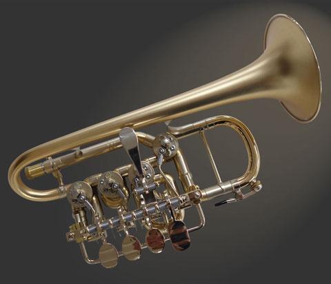 Hoch-B-Trompete