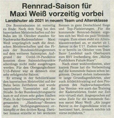 Quelle: Landshuter Zeitung 07.12.2020