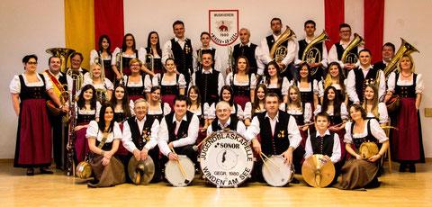 Im Jahr 1980 wurde der Musikverein gegründet und führt aktuell 46 aktive Musiker