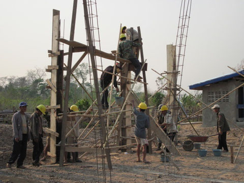 Picture 39: Community led construction in progress