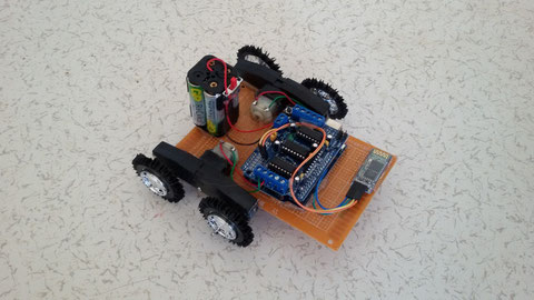 Sesle Kontrol Edilen Robot Arduino
