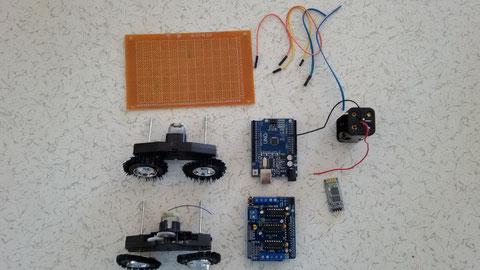 Ses Komutuyla Çalışan Robot