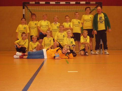 Mit neuer Mannschaft startet die männliche d-Jugend  um das Trainergespann Fred Brockhoff und Paul Homann in die kommende Saison 2014/2015.