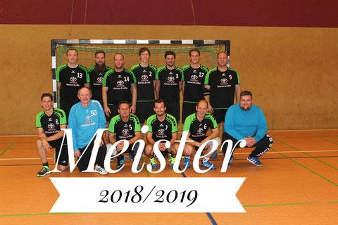 Meister 2018/2019. Nicht mehr einzuholen.