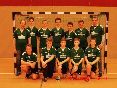 Meistermannschaft in der Saison 2015/2016