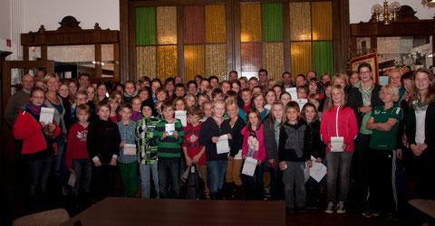 137 Teilnehmer zwischen 7 und 62 machten mit.....