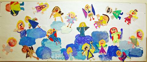 Kunst Grundschule Weihnachten