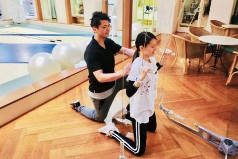 パーソナルトレーニング神戸 神戸西神オリエンタルホテル(神戸市西区)ボディメイク ダイエット