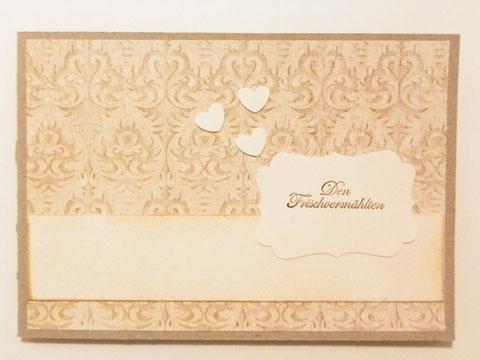 Hochzeitkarte Querformat