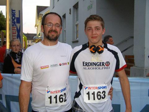 Erich und  Daniel  Pateter
