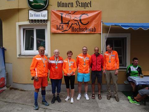 Tolle Erfolge beim Berglauf auf die Donnersalpe in Eisenerz am 11.07.2021! Top!