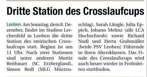 Obersteirische Rundschau Leoben - 05.12.2019