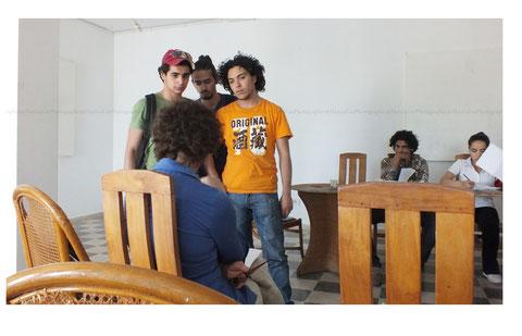 © Hamza Lee. Répétition à Aykart - Tunis - Juin 2013