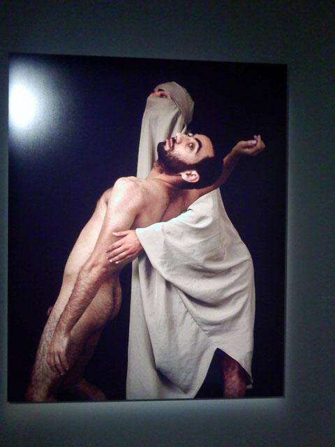 Mehdi-Georges Lahlou - Le Corps découvert. Exposition Institut du Monde Arabe, 2012