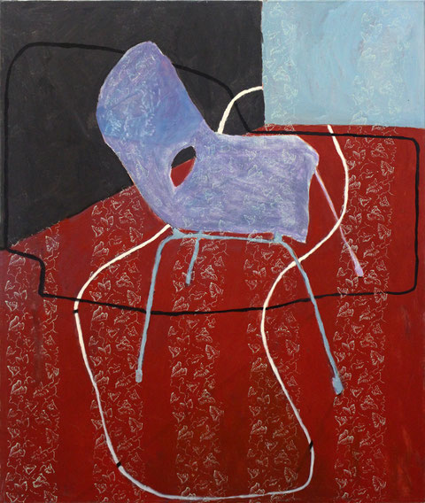 "Eva Hradil ""Verbundenheit II"" 2013-2014, Eitempera/HKG/LW 130 x 110 cm"