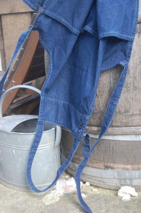 tablier de jardin jean