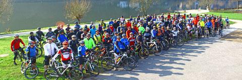 Benefiz-MTB-Tour - 129 Mountainbiker