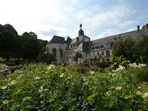 l'abbaye cistercienne de Valloires (XVIIIe)