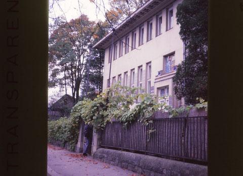 ウィーン郊外にあるオットー.ワグナーの自邸