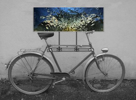 Kunst-Fahrrad: Projekt für Invasion-Kulturtage 2014, Freiburg