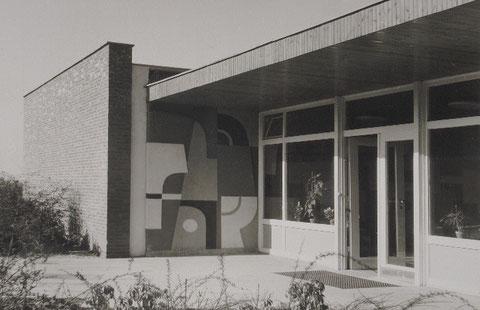 Sgraffitto, Kindergarten Alkenrath, Leverkusen, 1960
