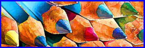 Tibetische 8 mit Farben