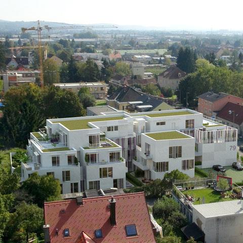 Architekturvisulisierung St.Peter Hauptstrasse 79 - bkimmo - Innenraum- und AussenRenderings 360° VR, Photomontagen in Drohnenbilder