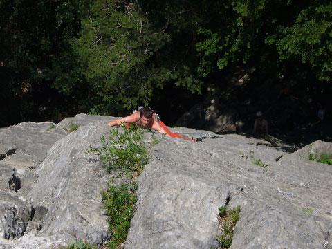 Klettern, Fläsch, Matlusch