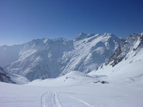 Skitour, Schweiz, Bächenstock, Meiental, Gotthard, Rorspitzli, Fleckistock, Stucklistock