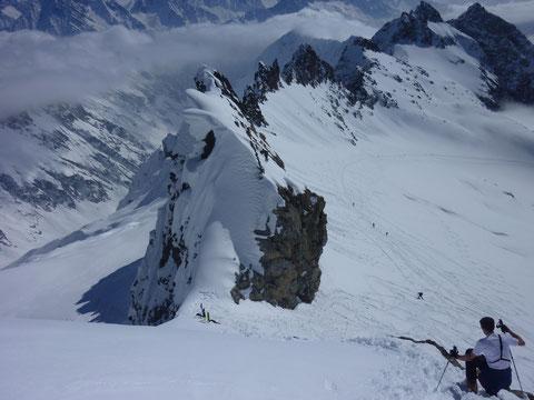 Skitour, Schweiz, Bächenstock, Meiental, Gotthard, Skidepot