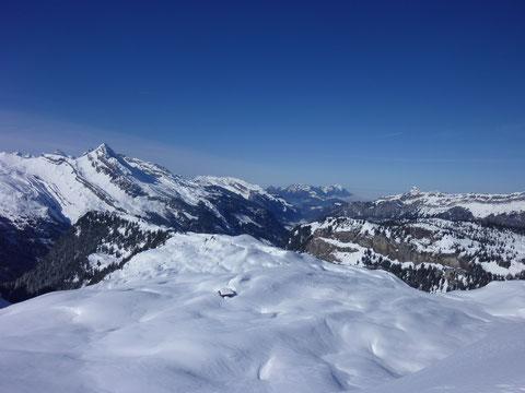Pfannenstock, Skitour, Winterkorridor, Muotathal, Bisistal, Karrengelände