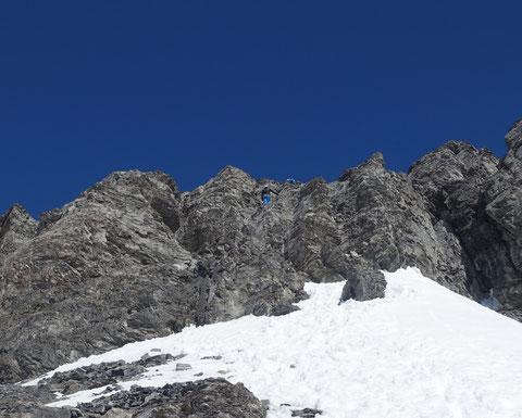 Skitour, Schweiz, Zwächten, Gross Spannort, Gipfelanstie, Sicherung, Bärenstock, Meiental, Gorezmettlen, Rossbiel, Rossfirn, Chüefad